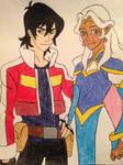 Keith and Princess Allura