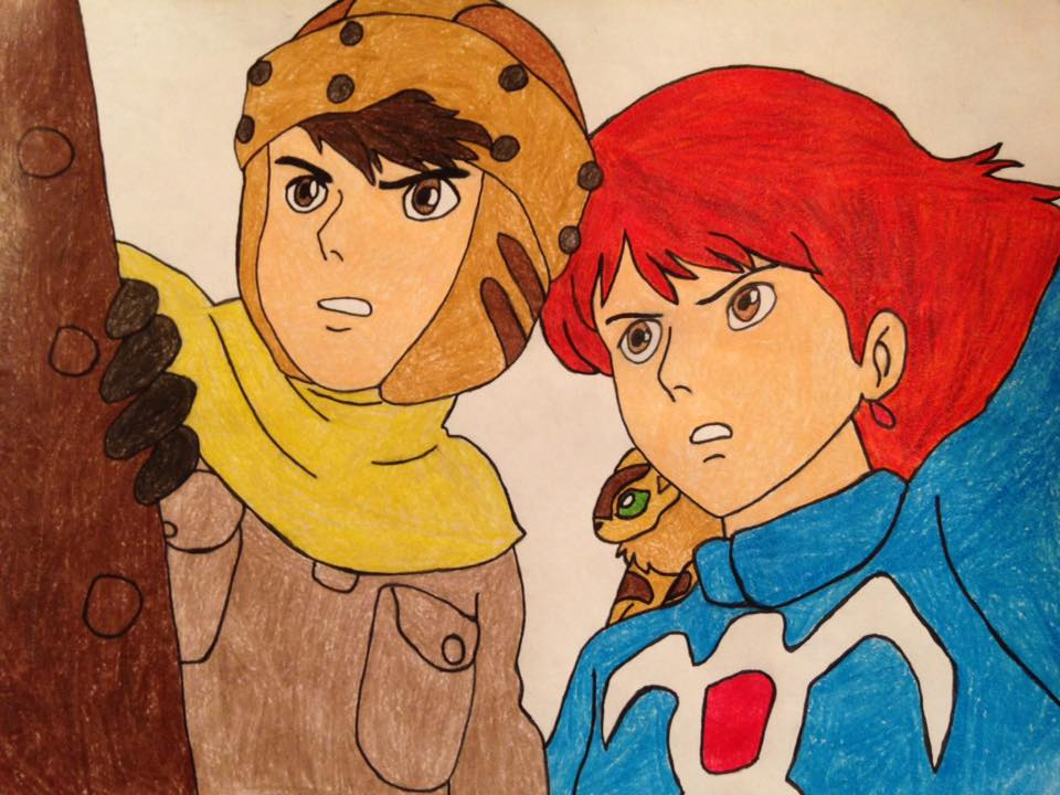 nausicaa and asbel by kailie2122 on deviantart