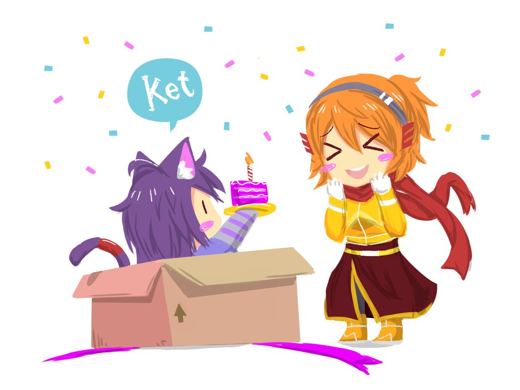 happy besday by nekoz97 on deviantart
