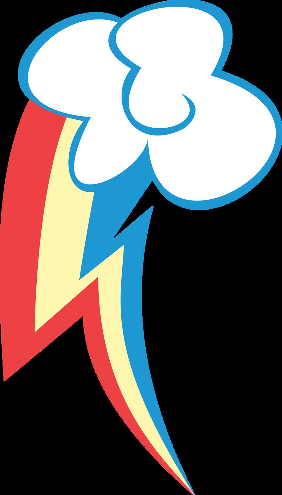 Rainbow Dash Cutie Mark by LunaBubble-Ede96 on DeviantArt