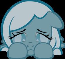 Sad Snowdrop by LunaBubble-Ede96
