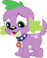 Spike Dog by LunaBubble-Ede96