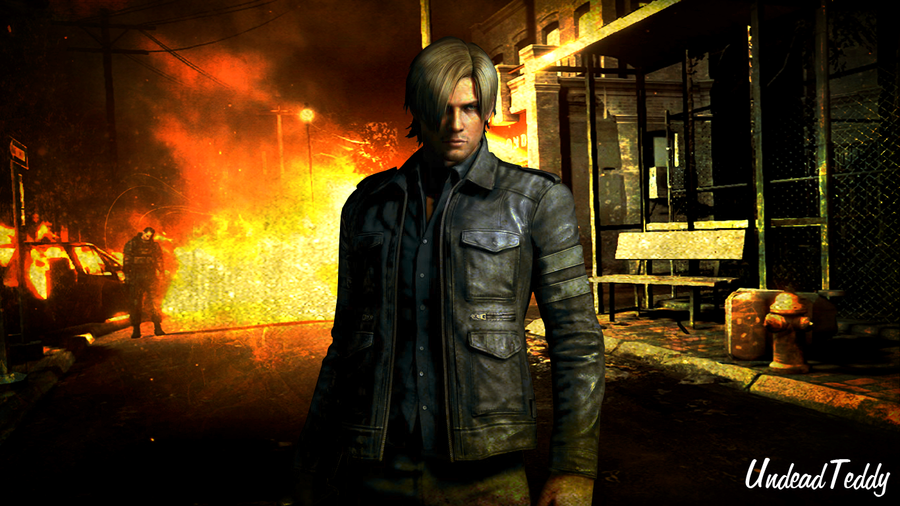 Leon Scott Kennedy Resident Evil 6 By UndeadTeddy On