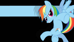 Rainbow Dash PSP wallpaper V1 by StratMLP