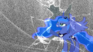 Nightmare Luna Wallpaper by StratMLP