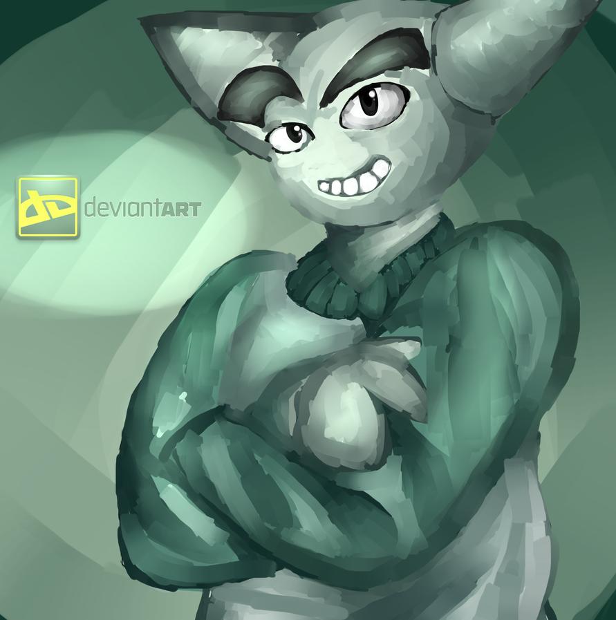 Fella, Deviantart's #1 Mascot! by Hexblaster