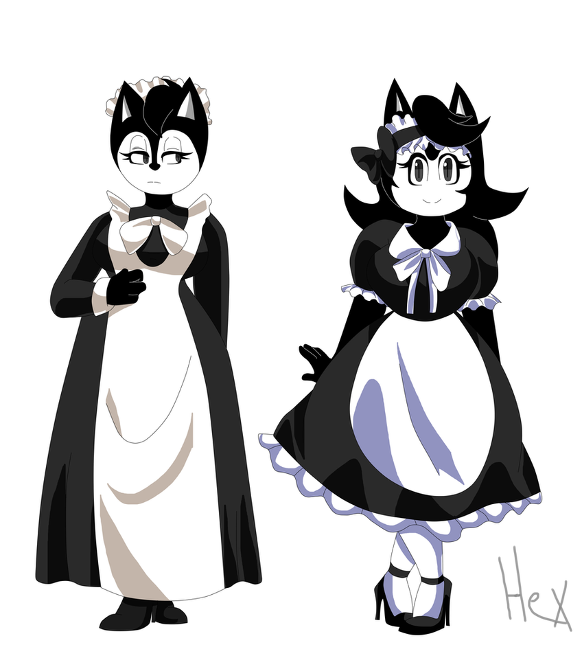 Bendy's Maids -ref- by Hexblaster
