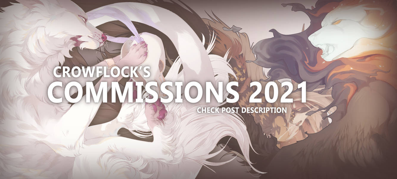 Commission Prices 2021 - CLOSED