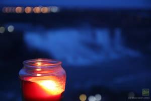 Niagara Falls Candle Light