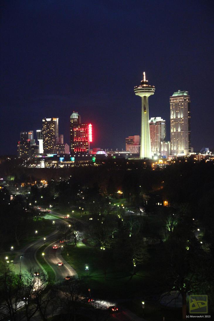 Niagara Falls Ontario by monroeart