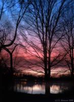 Twilight on Green Lake by monroeart