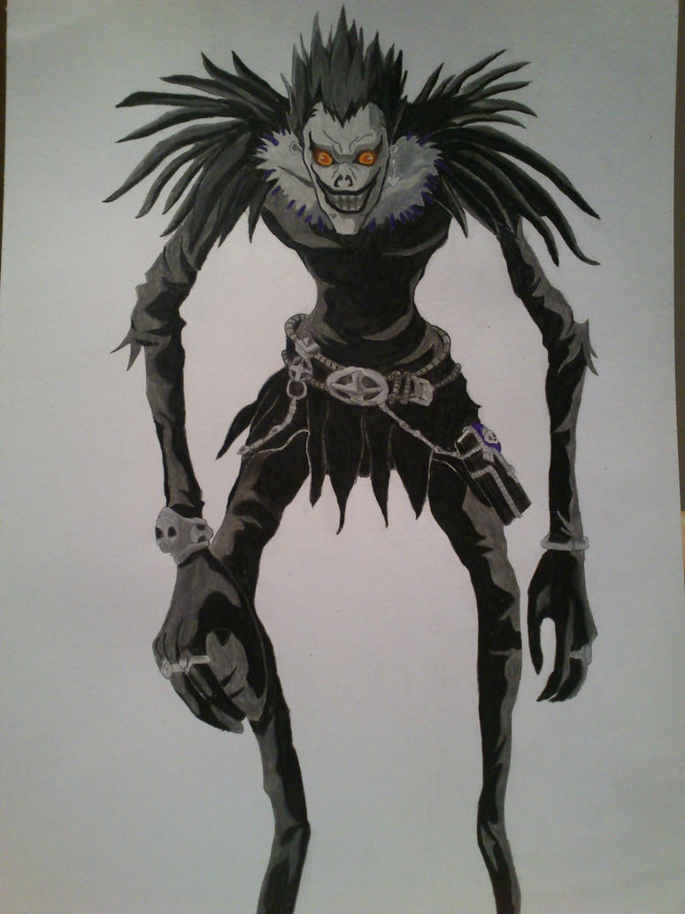 Death Note: Ryuk Shinigami by SkyChow on DeviantArt