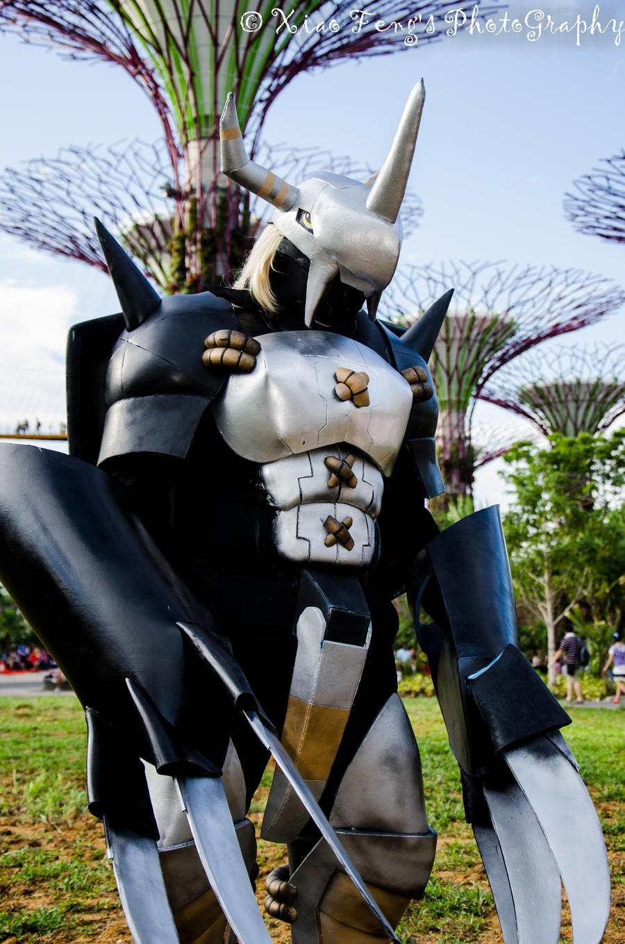 Black WarGreymon ~ Cosplay by PS-XiaoFeng