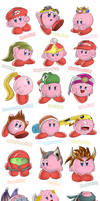First 18 Brawl Kirby Hats by U-l-t-r-o-s