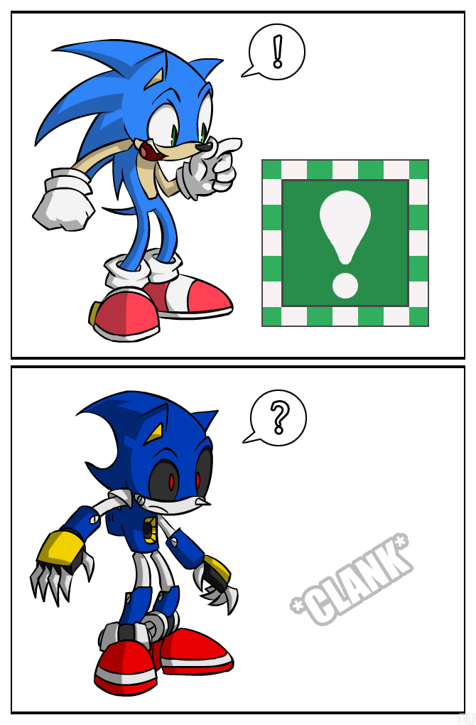 Metal Sonic by SootToon