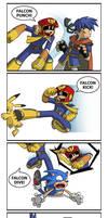 The Falcon Attacks by U-l-t-r-o-s