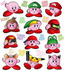 Super Smash Bros Kirby by U-l-t-r-o-s