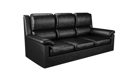 Leather Sofa by TallPaul3D