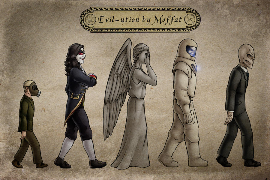 Evil-ution by Moffat by TravisTheGeek