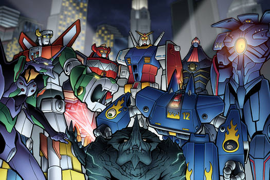 Giant Robots! by TravisTheGeek