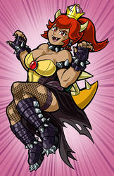 Bowsette by TravisTheGeek