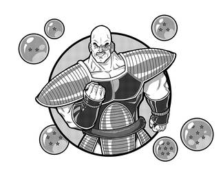 Nappa by TravisTheGeek