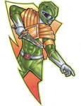 Green Ranger Copic Marker sketch