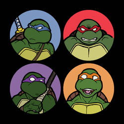 TMNT Buttons
