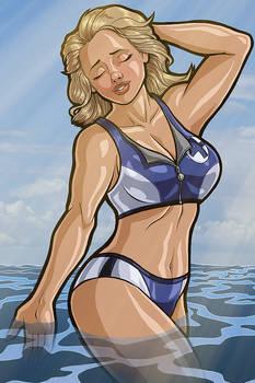 Sue Storm Swimsuit Special