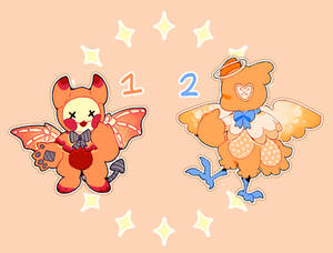 [plushpets] your angle or yuor devil [closed]