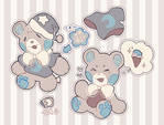 [plushpets] bedtime bear [closed]