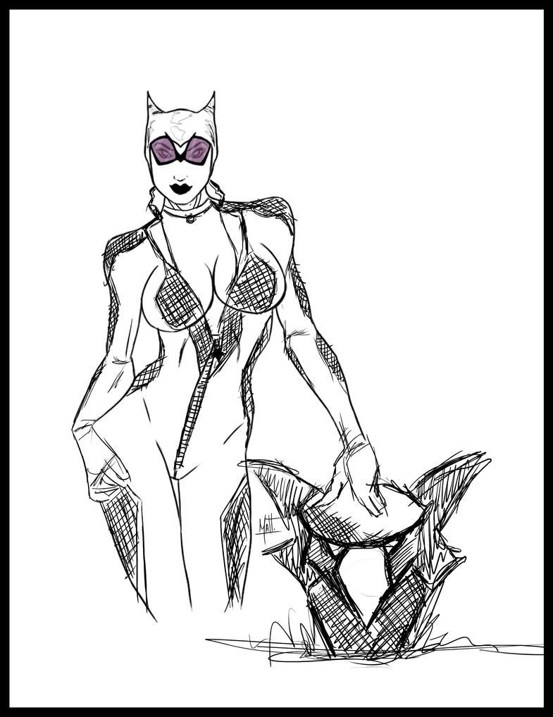Catwomann by mattwill3