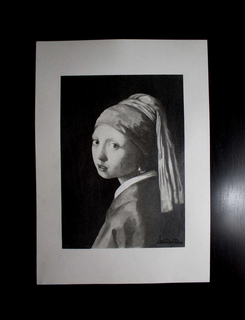 La joven de la perla by mattwill3