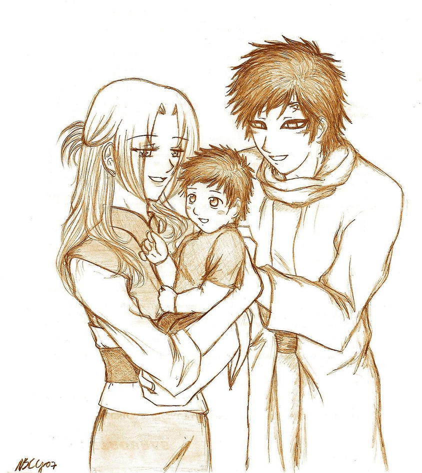 Gaara And Sakura Family