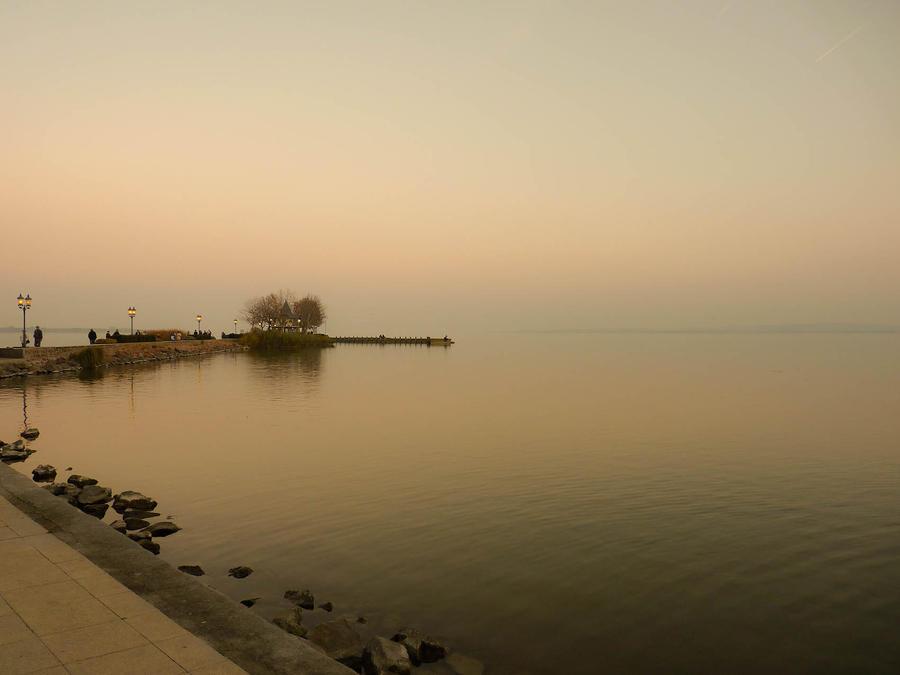 Lake Balaton by Noncsi28