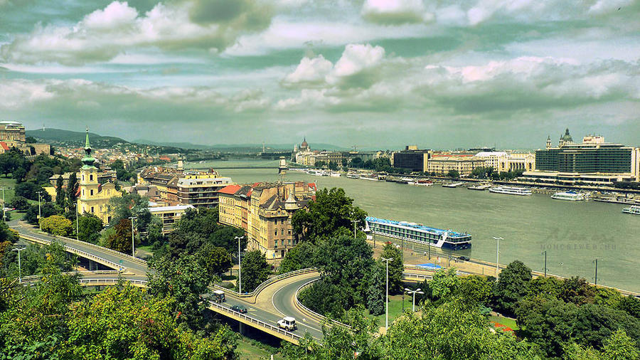 Budapest cityscape by Noncsi28