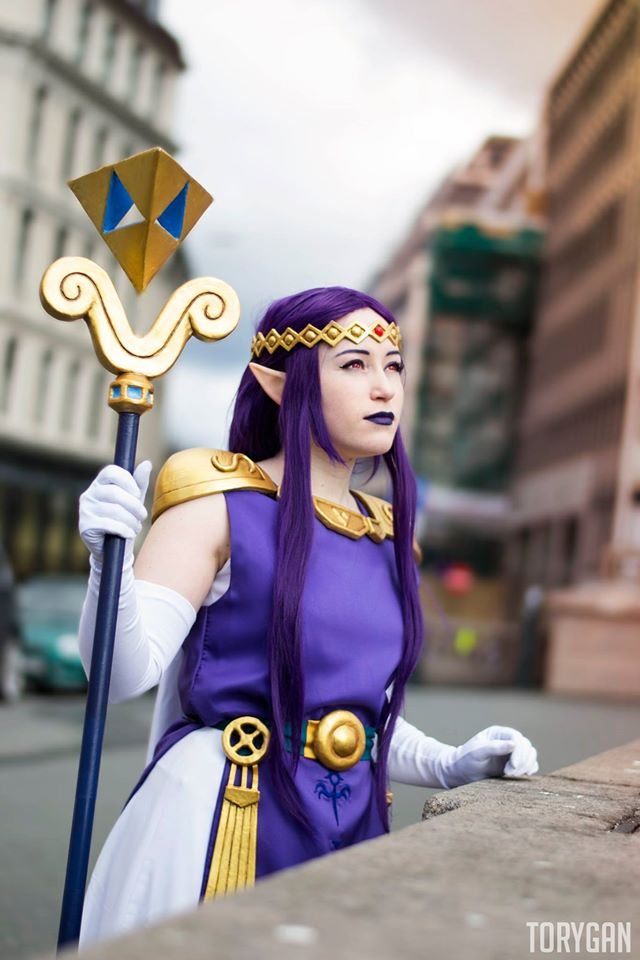 Hilda - The legend of zelda: A link between worlds by Lumacosplay