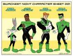 Looney Lanterns the web comic line up 001