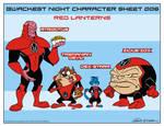 Looney Lanterns the web comic line up 006