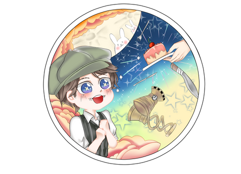 [Identity V Chibi keychain collection] Naib