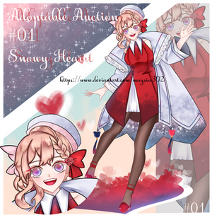 [REOPEN] Adoptable Auction #01-Snowy Heart