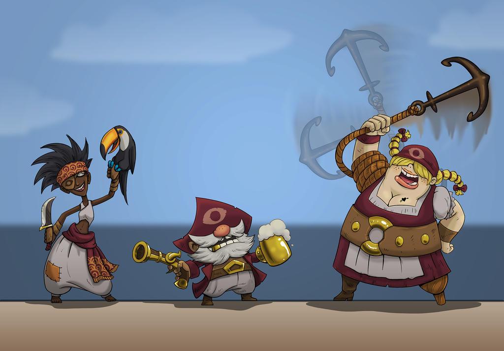 Pirates! by zironeto