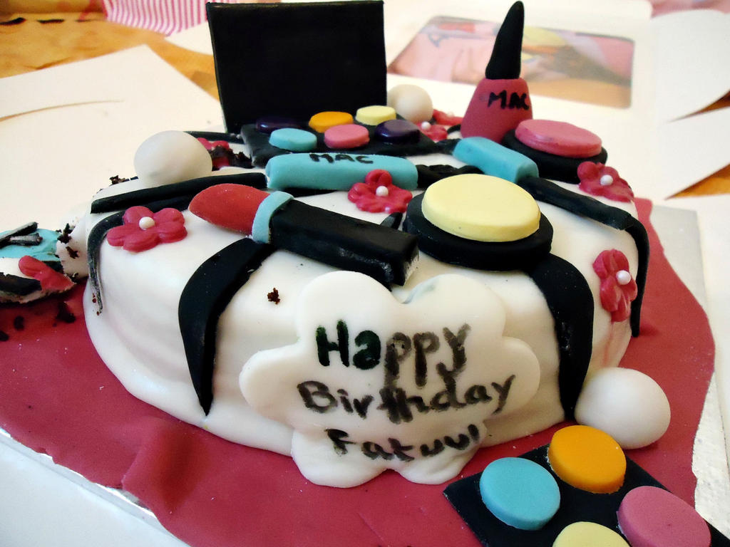 Birthday Cakes Images With Name And Photo ~ My birthday cake by fatima on deviantart