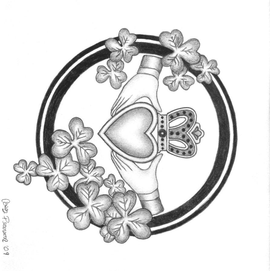 Claddagh by caseypearson on deviantart claddagh by caseypearson buycottarizona Choice Image