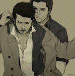 Supernatural - Destiel by Nazgullow