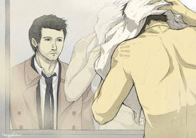 Supernatural - Destiel Shower by Nazgullow