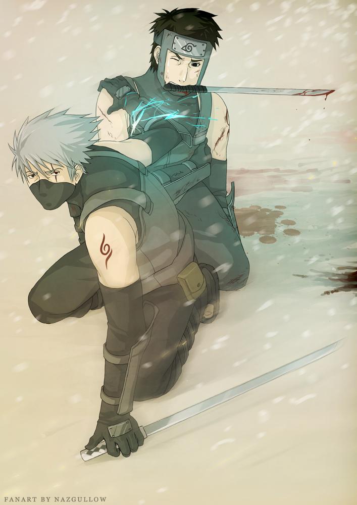 Naruto - Kakashi n Yamato ANBU by Nazgullow on DeviantArt