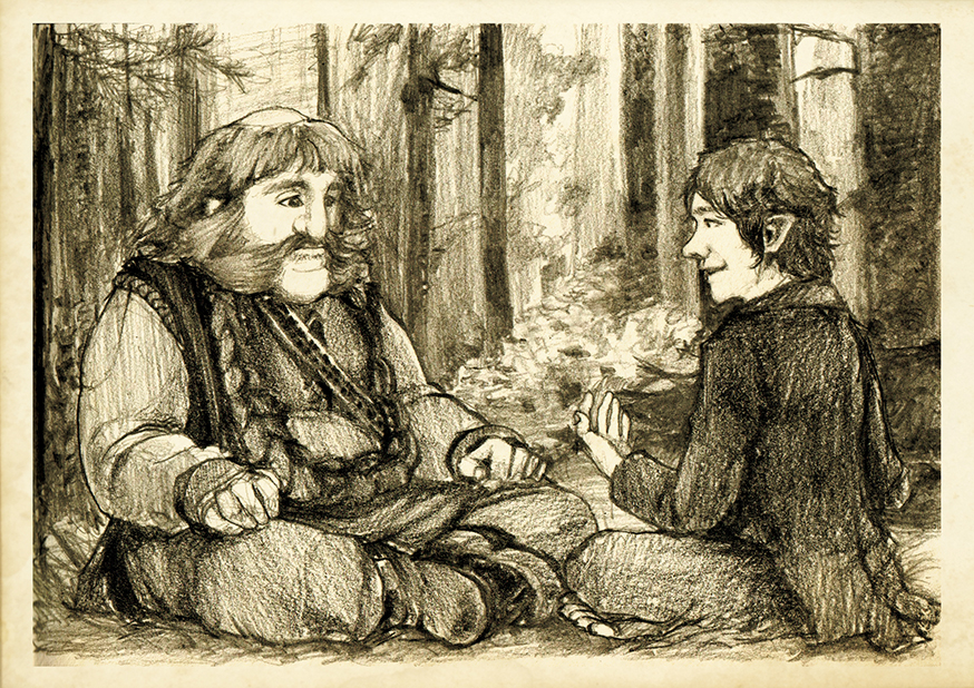 Discovering Mr Baggins - Bombur by Nazgullow