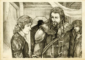 Discovering Mr Baggins - Fili by Nazgullow
