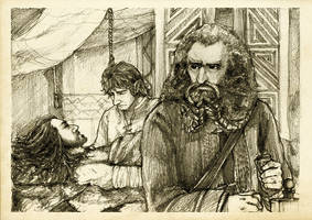 Discovering Mr Baggins - Oin by Nazgullow
